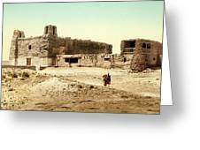 Old Mission Church At Acoma Greeting Card
