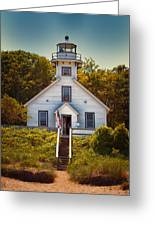 Old Mission Point Light House 02 Greeting Card