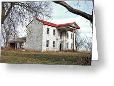 Old Missouri Mansion Greeting Card