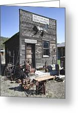 Old Molson Ghost Town Assay Office Greeting Card