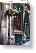 Old Montreal Architecture Greeting Card
