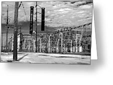 Old New Orleans Power Plant Greeting Card