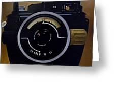 Old Nikon Greeting Card