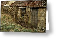Old Northumberland Stone Buildings Greeting Card