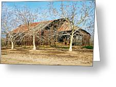 Old Orchard Barn Greeting Card