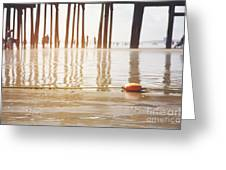 Old Orchard Beach Greeting Card