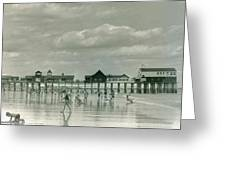 Old Orchard Beach Maine Greeting Card