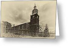 Old Otterbein Church Olde Tyme Photo Greeting Card