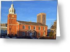 Old Otterbein United Methodist Church Greeting Card