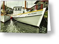 Old Point St. Michaels Greeting Card