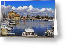 Old Port Holiday Greeting Card
