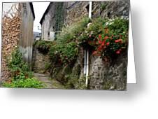 Old Quarter Of La Roche Bernard Greeting Card