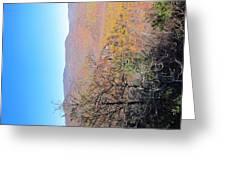 Old Rag Hiking Trail - 121223 Greeting Card