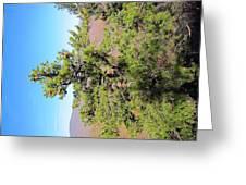 Old Rag Hiking Trail - 121225 Greeting Card