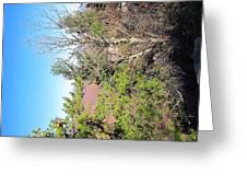 Old Rag Hiking Trail - 121226 Greeting Card