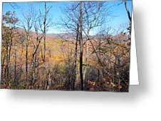 Old Rag Hiking Trail - 12128 Greeting Card