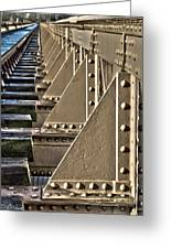 Old Railway Bridge In The Netherlands Greeting Card