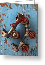 Old Roller Skates Greeting Card
