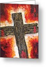 Old Rugged Cross Greeting Card