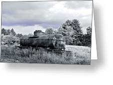 Old Rusty Tanker 3 Greeting Card
