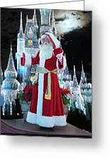 Old Saint Nick Walt Disney World Digital Art 02 Greeting Card