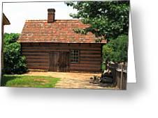 Winston-salem Nc - Old Salem Cottage Greeting Card