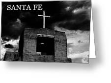 Old Santa Fe Greeting Card