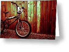 Old School Bmx - Pk Ripper  Greeting Card by Jamian Stayt