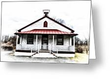 Old Schoolhouse Chester Springs Greeting Card
