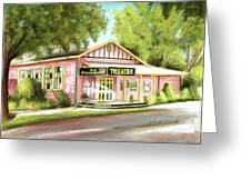 Old Schoolhouse Theater On Sanibel Island Greeting Card