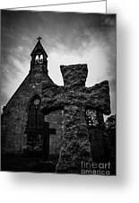 Old Scottish Church 2 Greeting Card