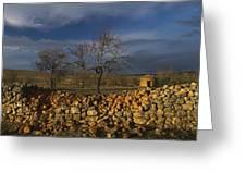 Old Shepherd's Hut Greeting Card