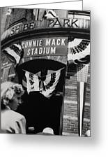 Old Shibe Park - Connie Mack Stadium Greeting Card