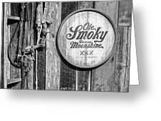 Ole Smoky Moonshine Greeting Card