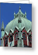 Old South Church Tower Greeting Card