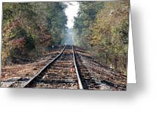Old Southern Tracks Greeting Card
