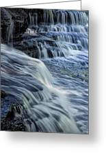 Old Stone Fort Waterfall Greeting Card