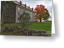 Old Stone House Greeting Card