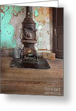 Old Stove Greeting Card