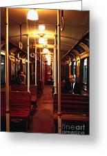 Old Subway In Buenos Aires Greeting Card