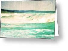 Old Surf Greeting Card