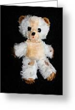 Old Teddy Bear Pepi Greeting Card