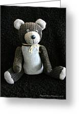 Old Teddy Bear Veijo Greeting Card