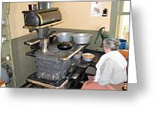 Old Time Cooking 7940 Greeting Card