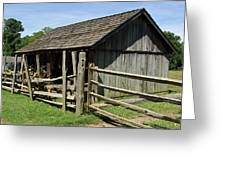 Old Tobacco Shed Greeting Card