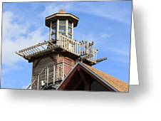 Old Tower Greeting Card
