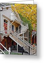 Old Town Chicago Living Greeting Card