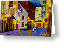 Old Towne Quebec Greeting Card