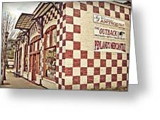 Old Towne Greeting Card