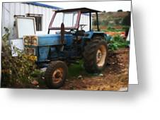 Old Tractor I Greeting Card